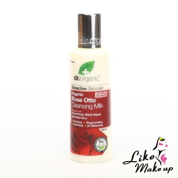 latte detergente alle rose Dr.Organic