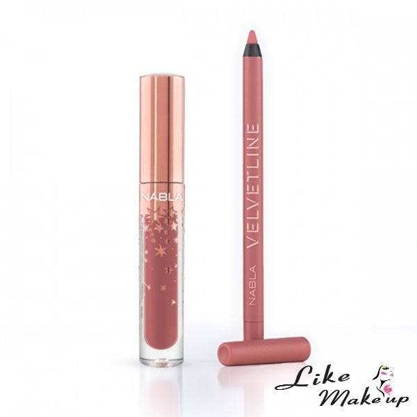 Holiday collection Nabla dreamy lip kit Closer