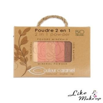 Polvere 2 in 1 Couleur Caramel