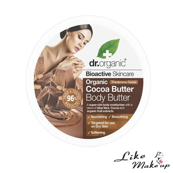 Burro Corpo Organic Cocoa Butter Dr. Organic