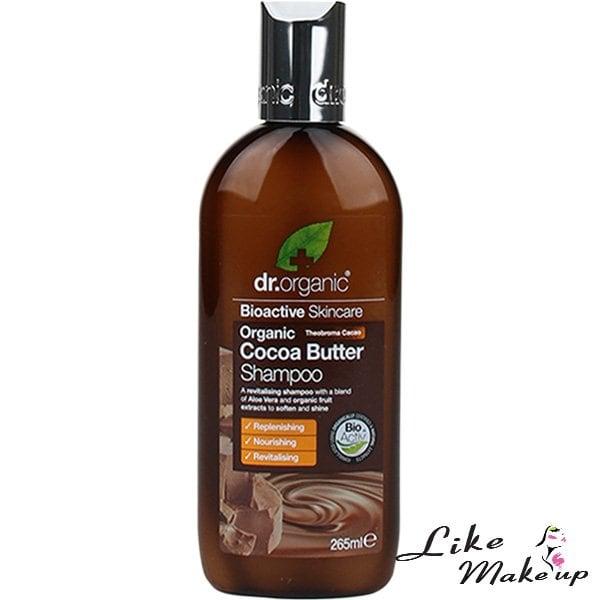 Shampoo Organic Cocoa Butter Dr. Organic