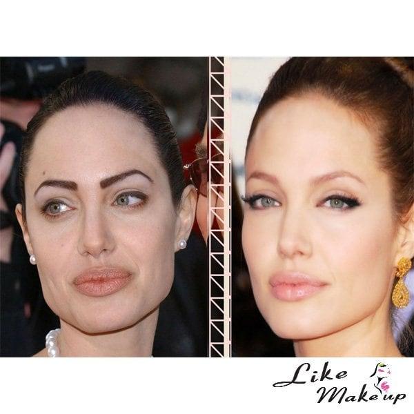 Sopracciglia Angelina Jolie